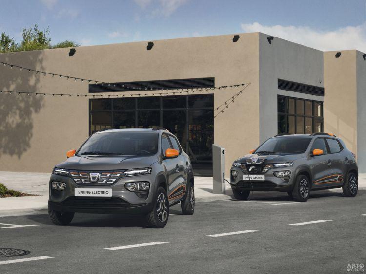Dacia Spring: электромобиль за разумные деньги