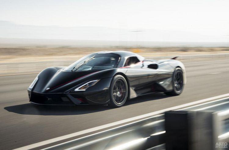 Установлен новый мировой рекорд скорости