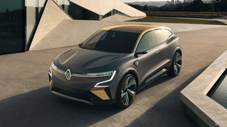Renault Megane eVision: предвестник перемен