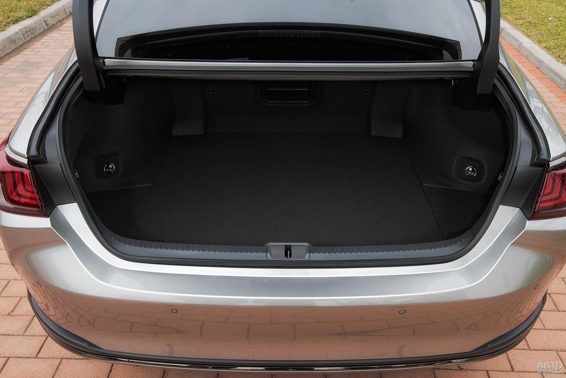 Объем багажника ES350 – 460 л