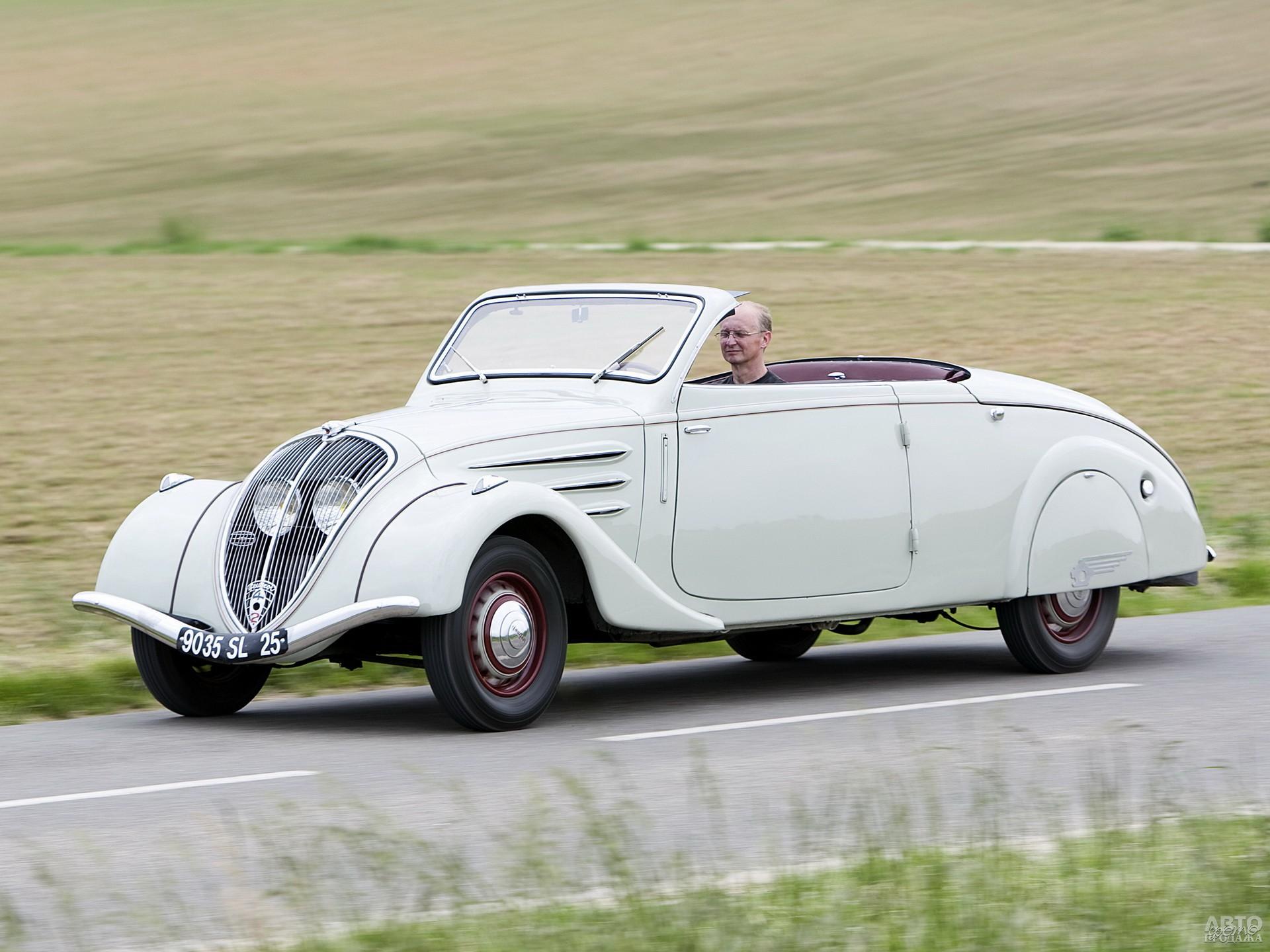 Peugeot 402 Eclipse 1937 года