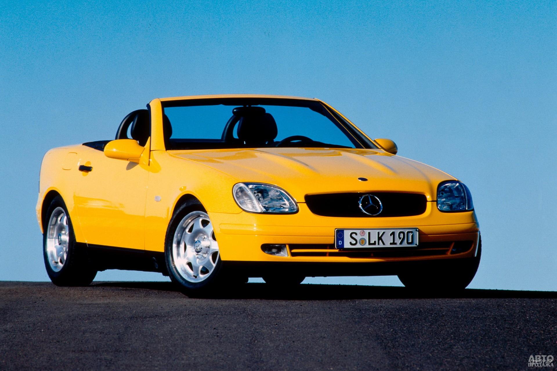 Mercedes-Benz SLK 1996 года