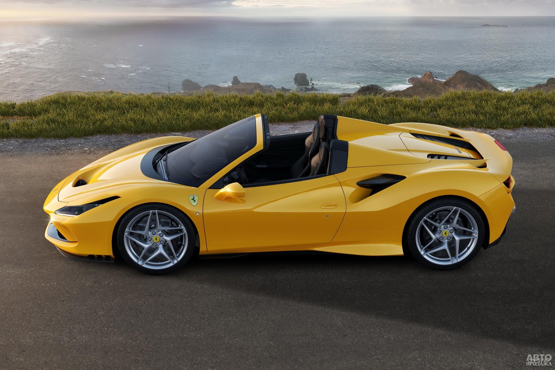 Ferrari F8 Spider 2020 года