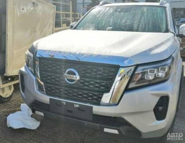 Nissan Navara пройдет обновление