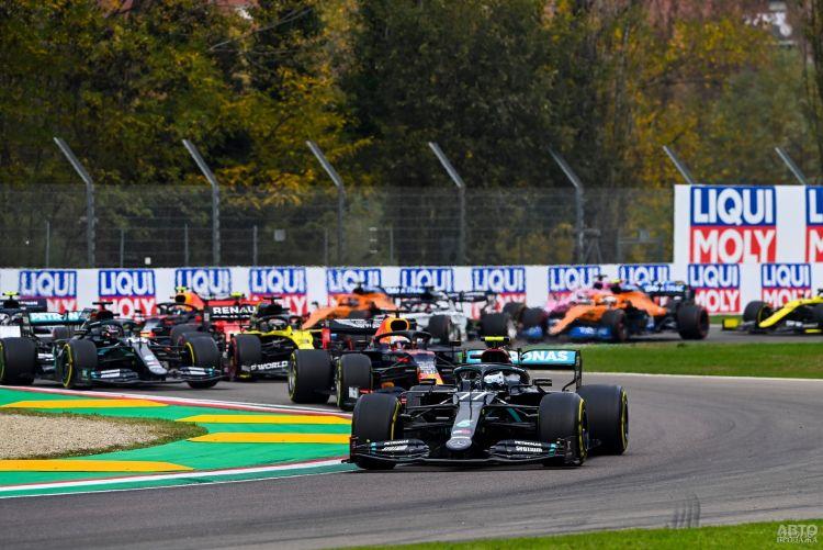 Формула-1: Хэмилтон продолжает победную серию