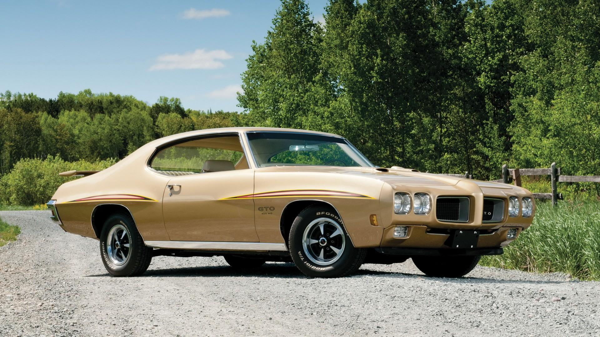 В 1970 году Pontiac GTO обновили и оснастили 7,4-литровым мотором