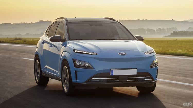 Hyundai Kona Electric: обновление электромобиля