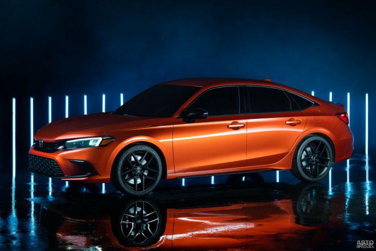 Honda Civic: предвестник нового поколения модели