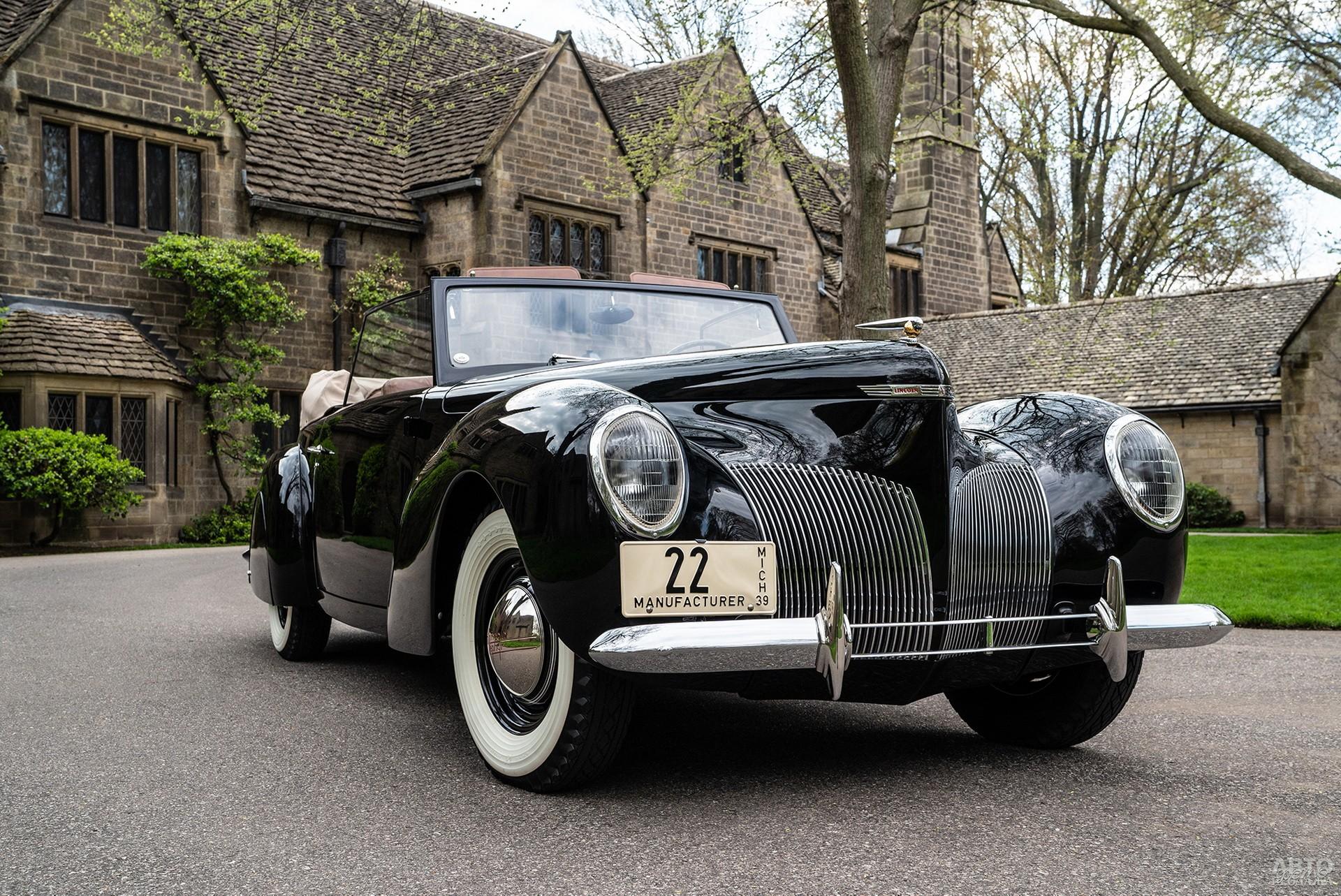 Первый Lincоln Continental 1939 года был изготовлен по личному заказу Эдсела Форда