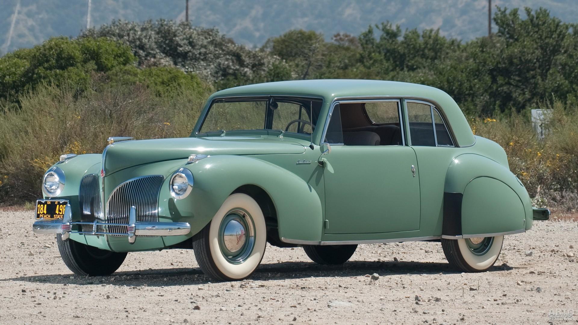 Купе Lincоln Continental 1941 года