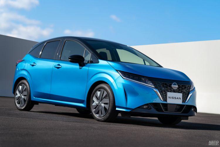 Nissan Note: смена образа