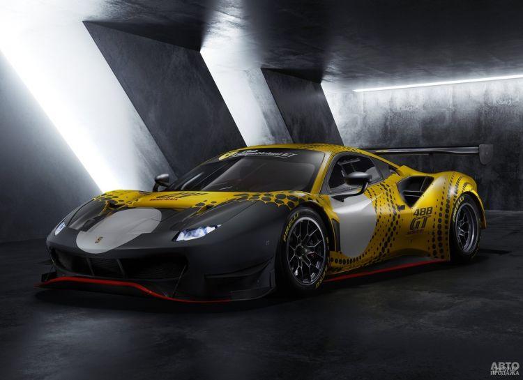Ferrari представили новую гоночную модель