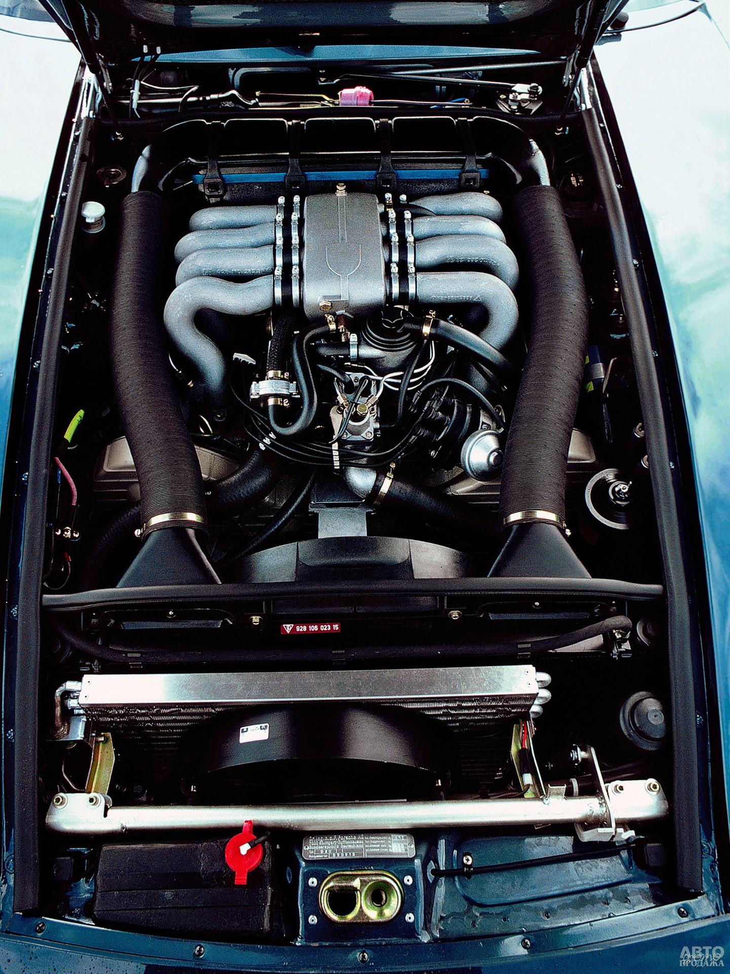 Для Pоrsche 928 создали абсолютно новый V8