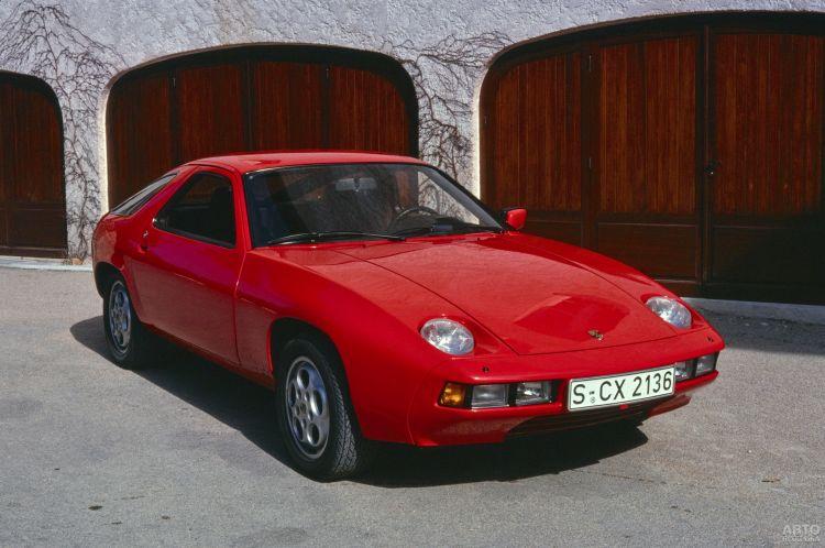 Porsche 928: нестандартный представитель марки