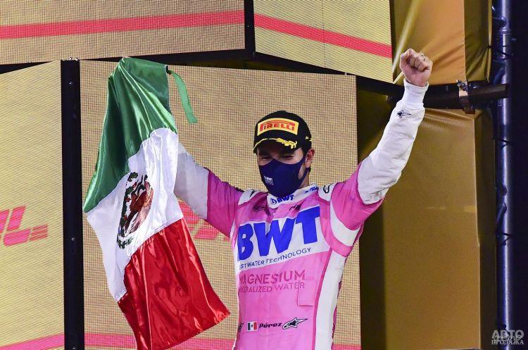 Формула-1: сенсационная победа Переса в Сахире