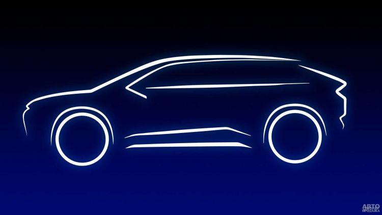Toyota готовит электрический вседорожник