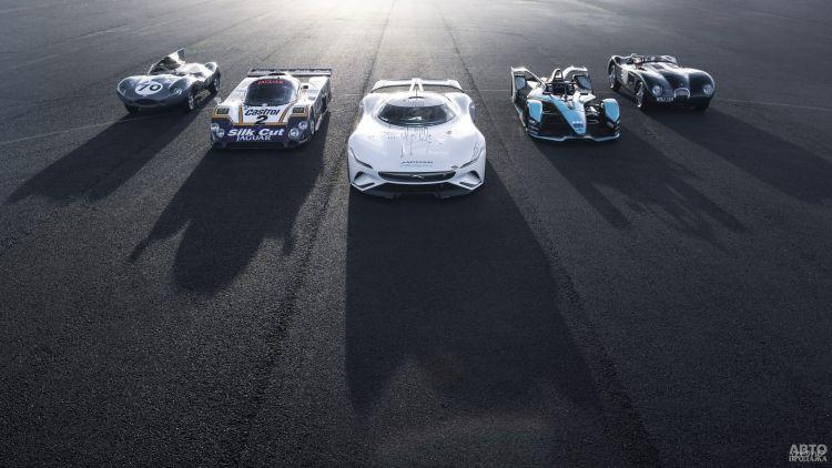 Jaguar Vision Gran Turismo SV: спорткупе для виртуального мира