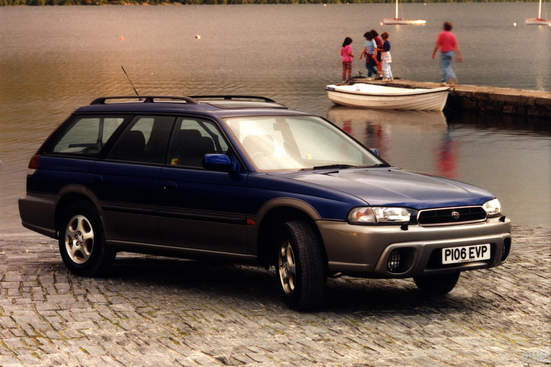Subaru Legacy Outback, 1995 год