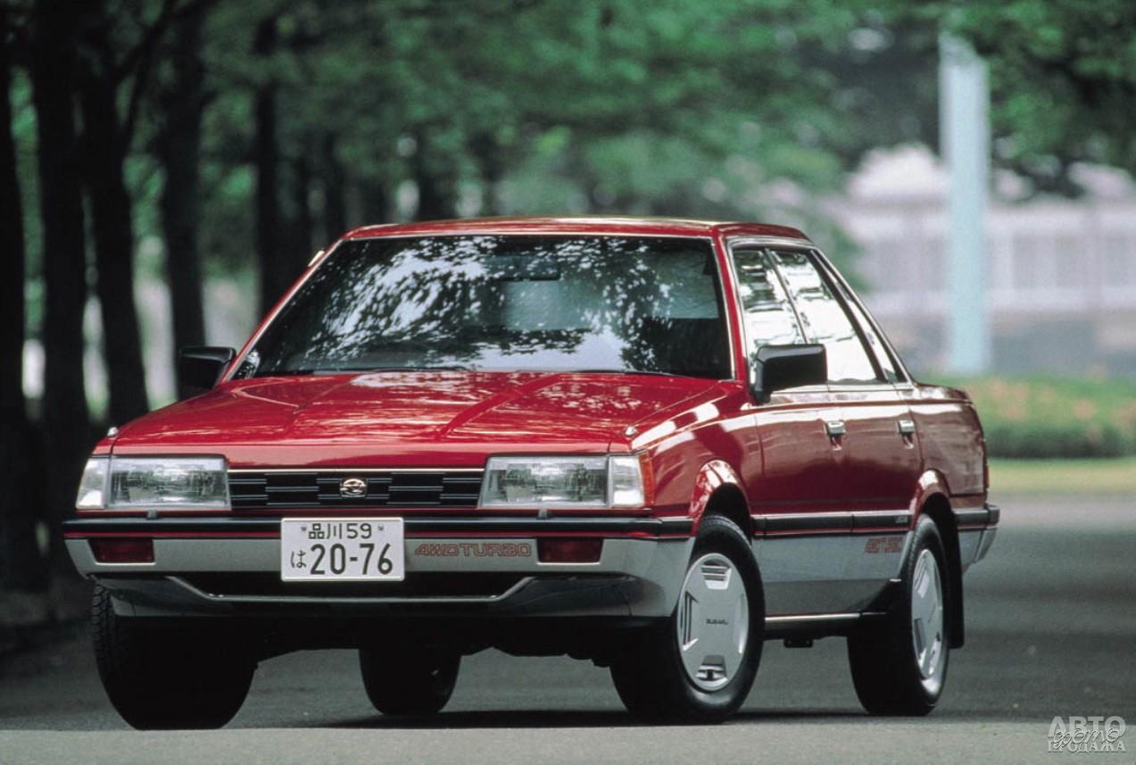 Subаru Leone 1985 года получил постоянный полный привод