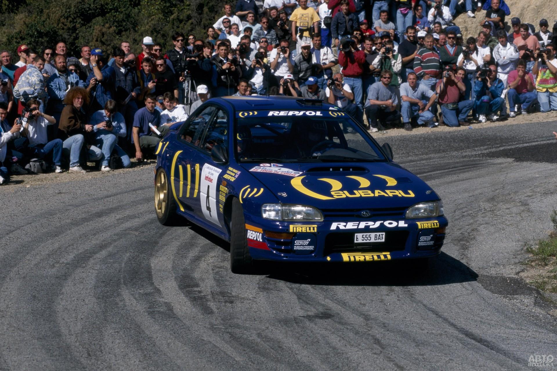 Subaru Impreza первого поколения – гроза раллийных трасс в 90-х годах