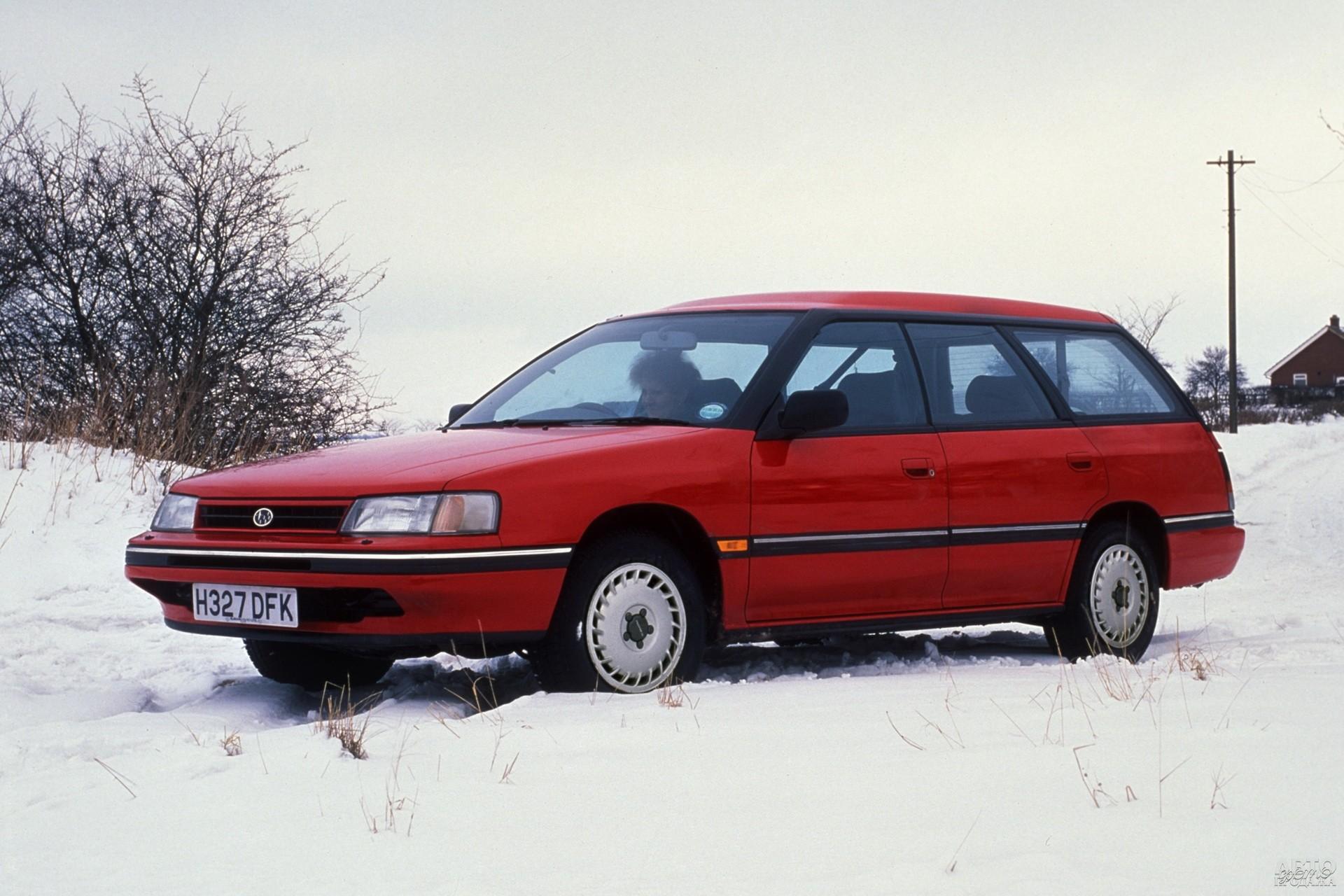 Subаru Legacy 1989 года