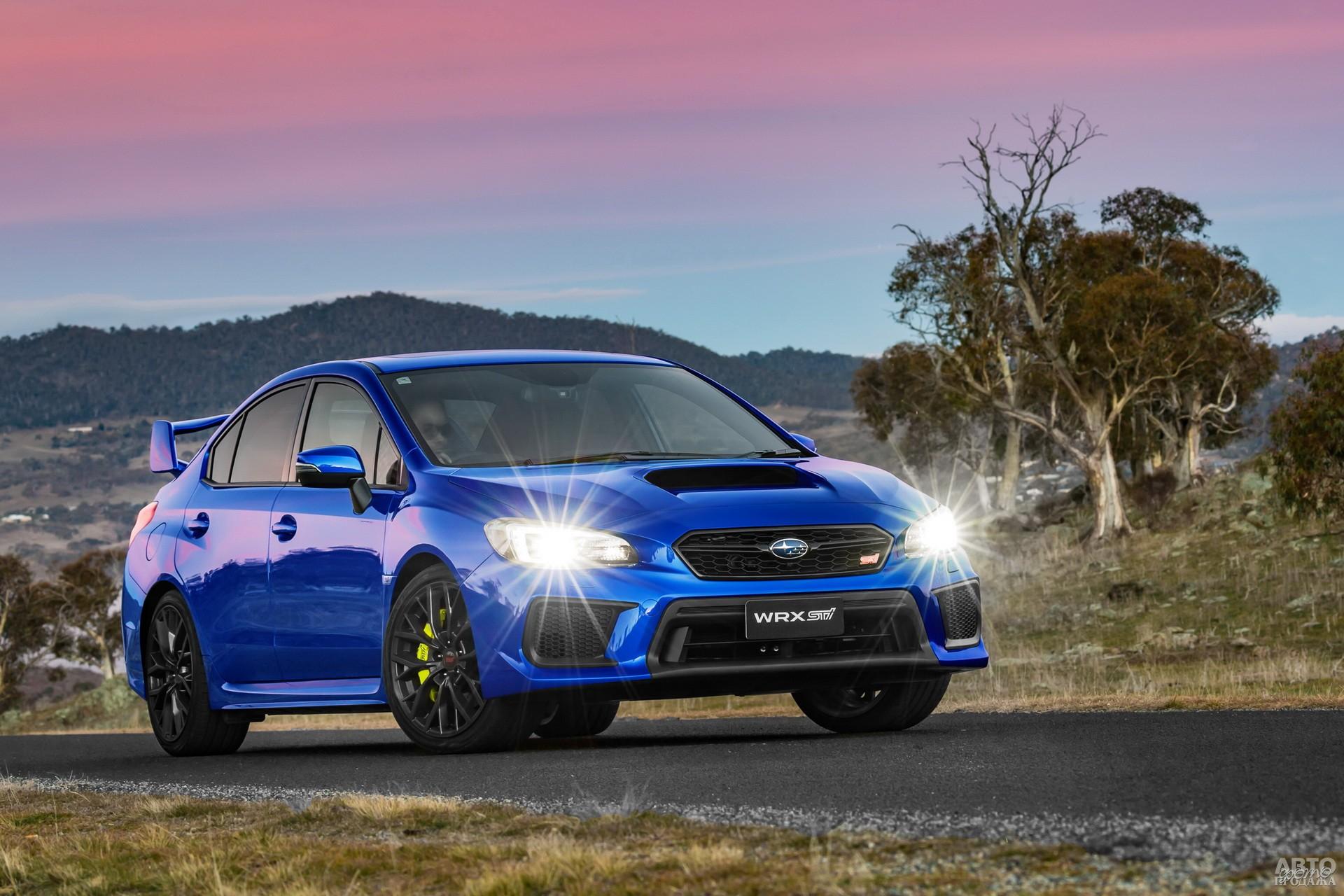 Subaru WRX STI 2017 года