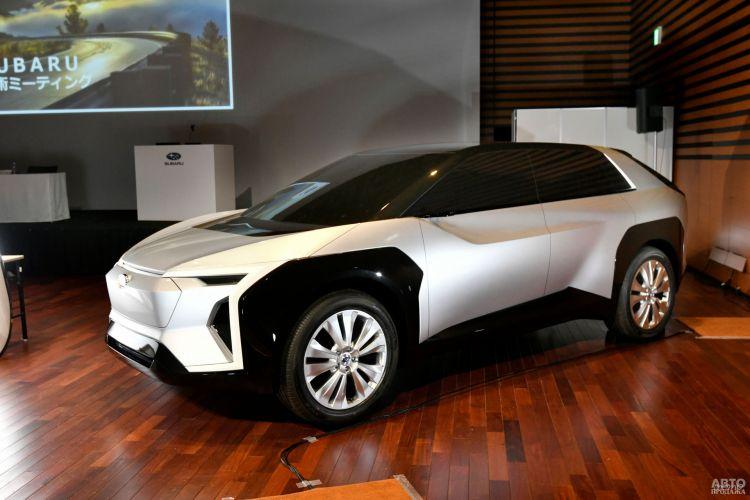 Первый электромобиль Subaru появится в 2021 году