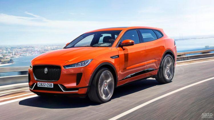 Jaguar готовит большой электрический вседорожник