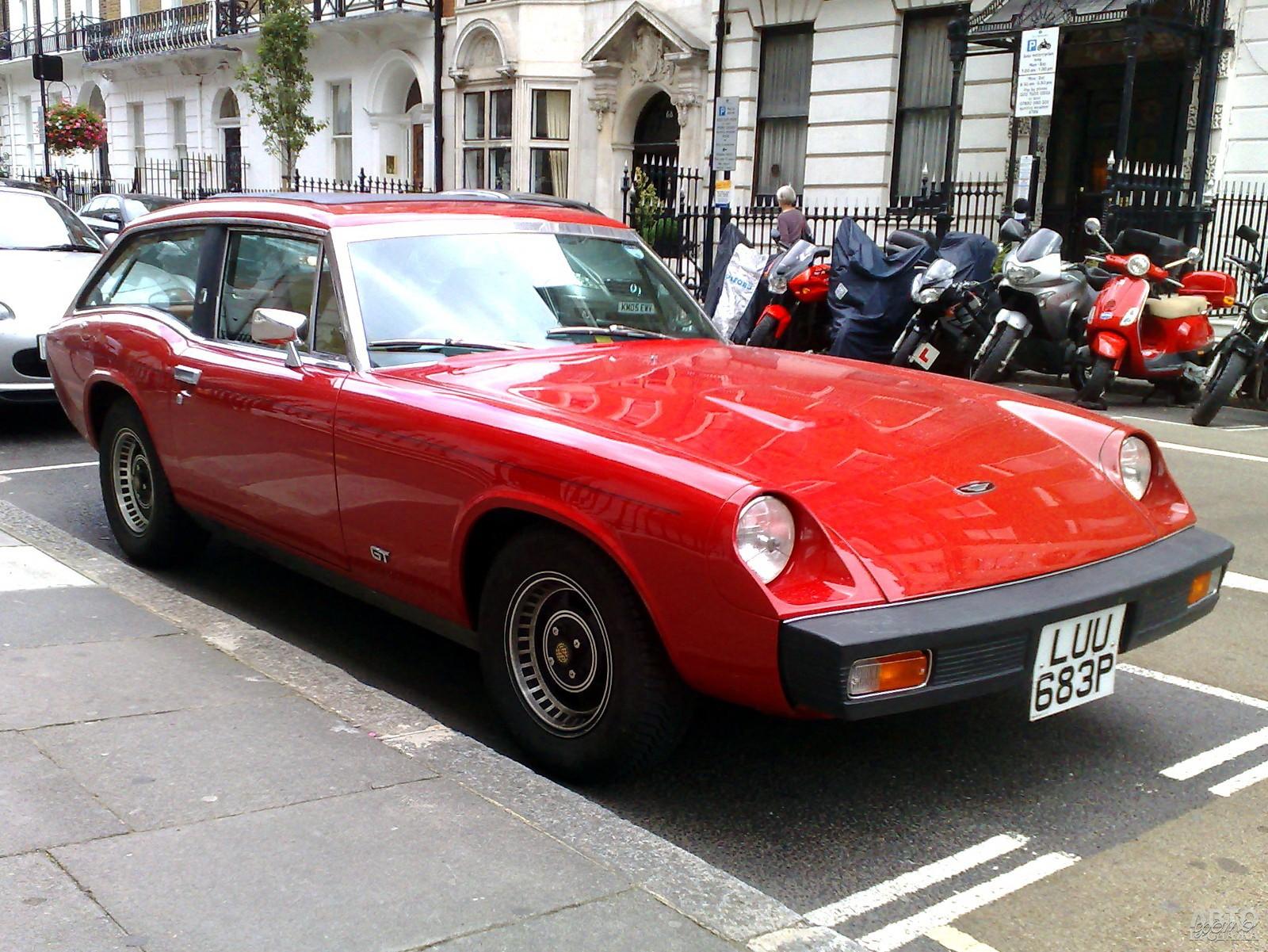 Jensen-Healey GT 1975 года