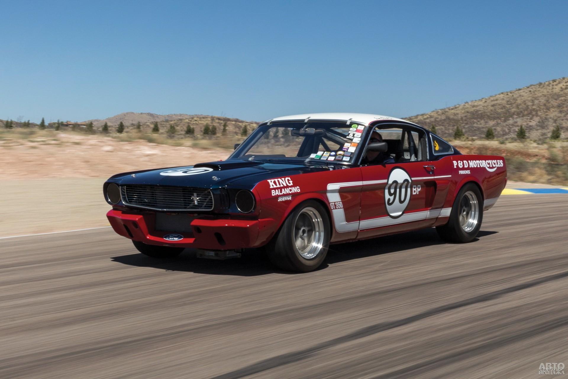 Гоночный Shelby GT350 R выигрывал кузовной чемпионат Trans Am  в 1966 и 1967 годах