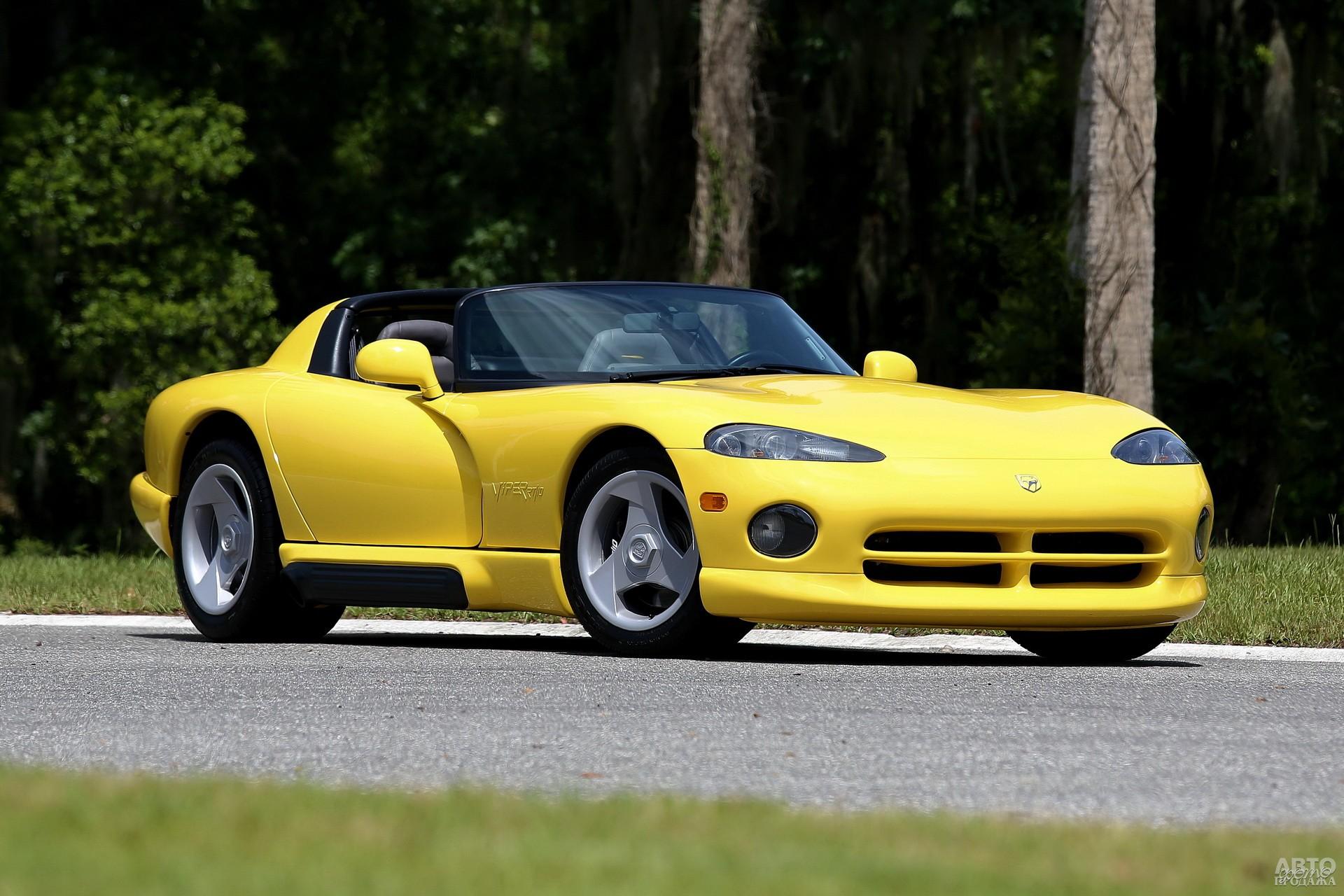Первый Dodge Viper также является творением Кэролла Шелби