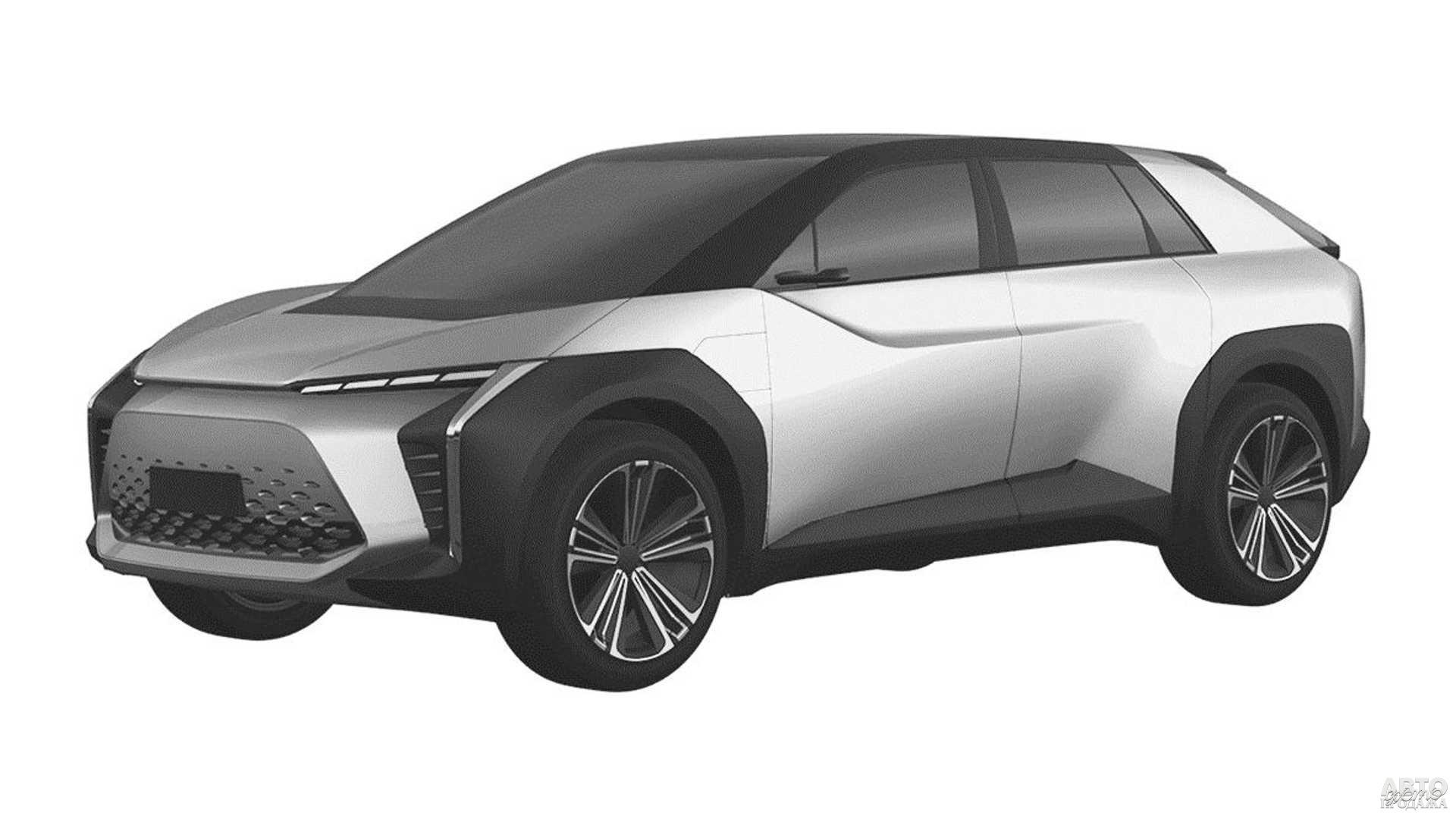Электрический вседорожник Toyota