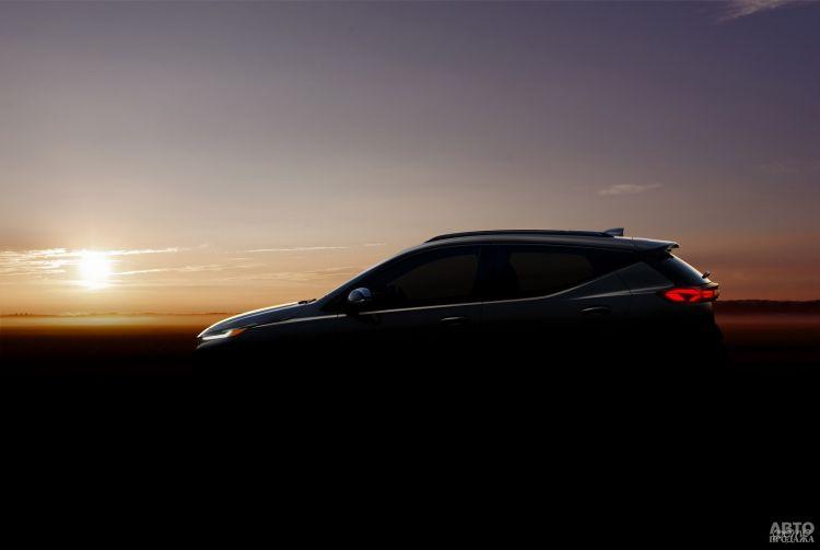 Новый электромобиль Chevrolet показался на первых фото