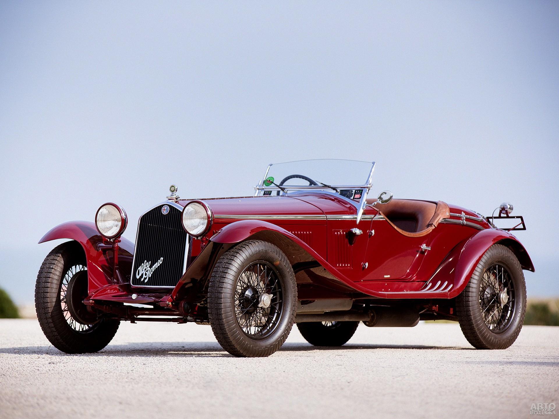 Alfa Romeo 6C 1750 1929 года