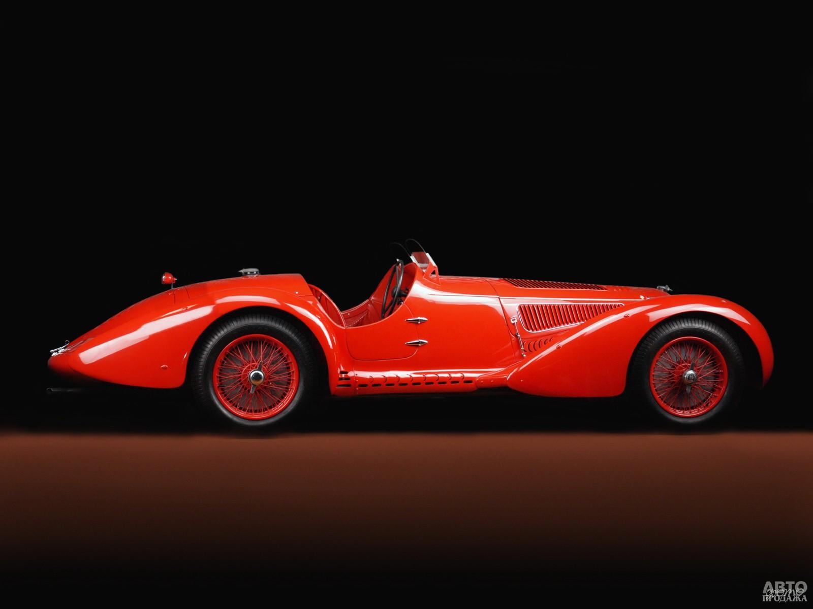 Alfa Romeo 8C 2900 Spider – победитель  гонки Mille Miglia в 1936-1938 годах