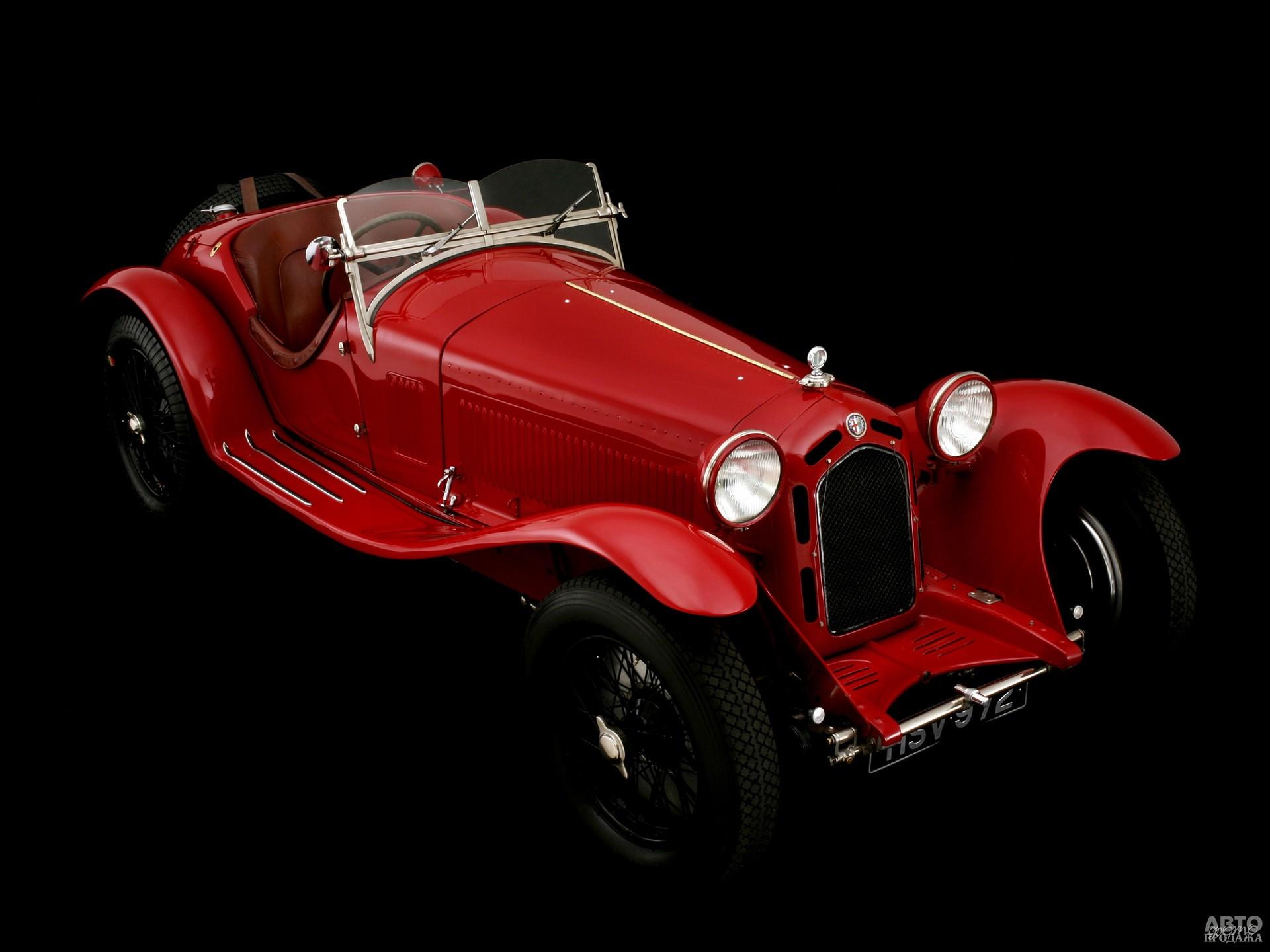 Alfa Romeo 8С 2300 Zagato Spider Corto 1932 года