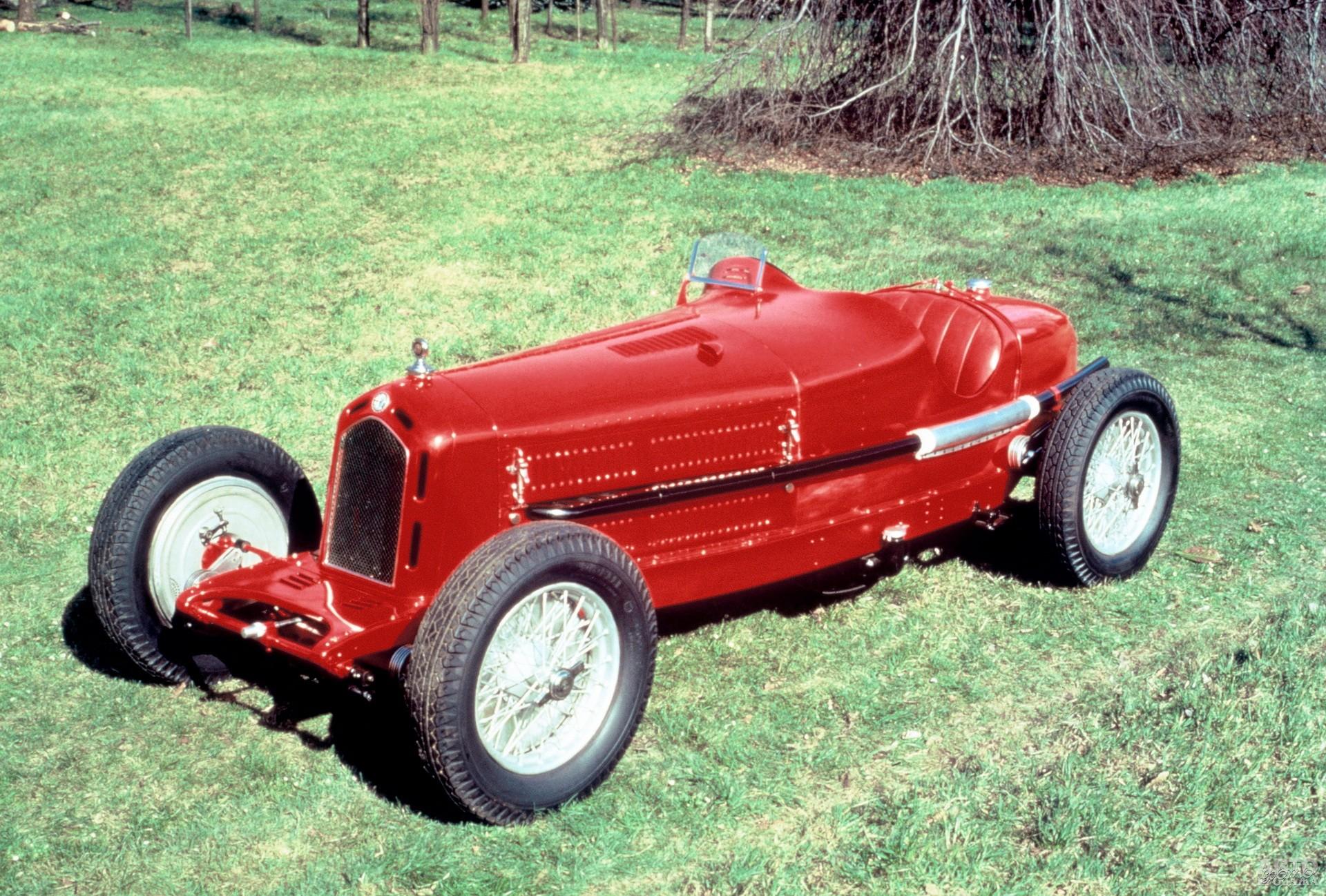 Гроза гоночных трасс – Alfa Romeo 8C 2300 Monza 1932 года