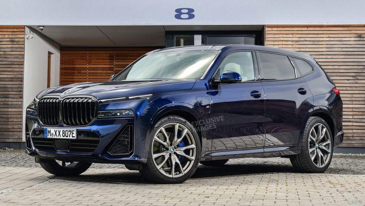 BMW готовит новый вседорожник X8
