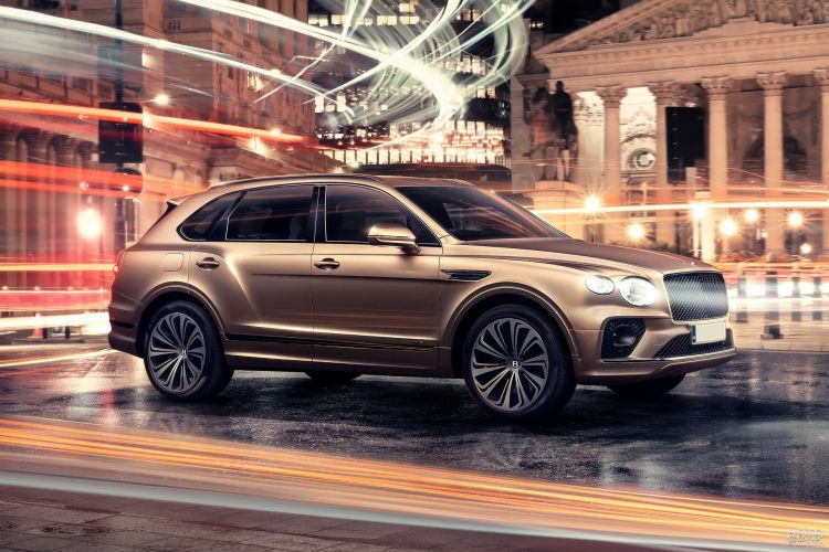Bentley Bentayga Hybrid: экономная роскошь