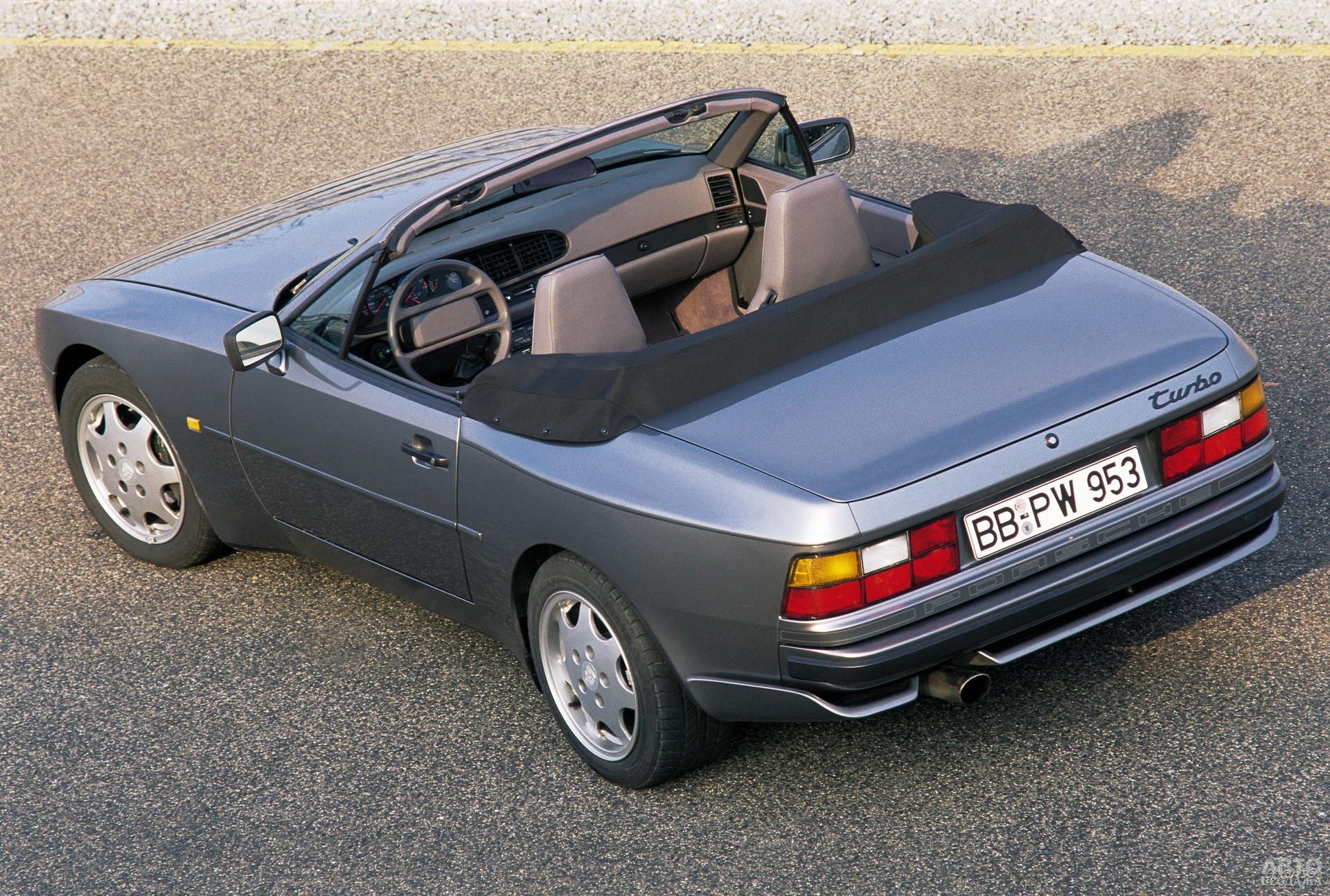 Кабриолет Porsche 944 Turbo, 1991 год