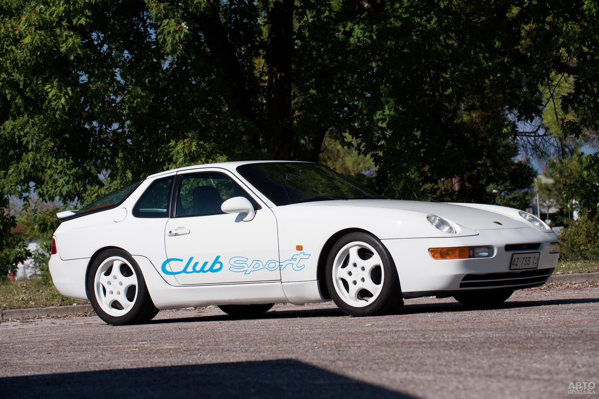 Облегченный Porsche 968 Clubsport, 1993 год