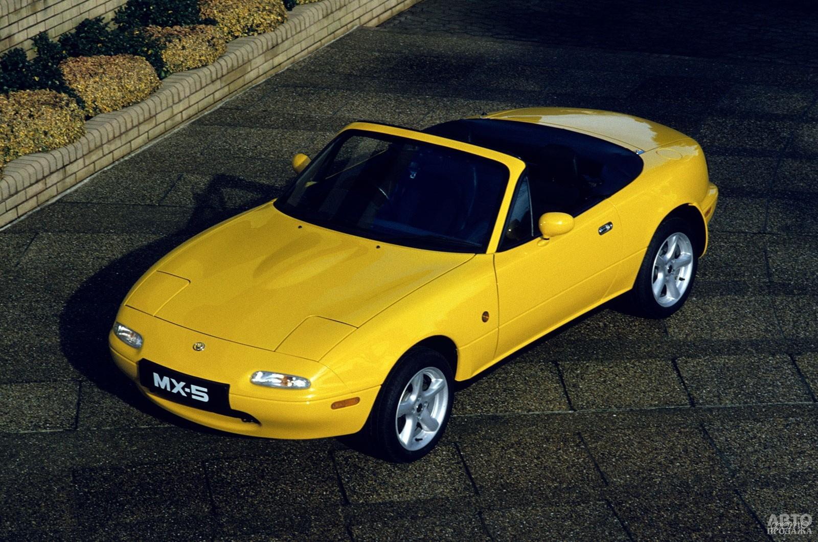 Лимитированная версия Mаzda MX-5 California, 1996 год