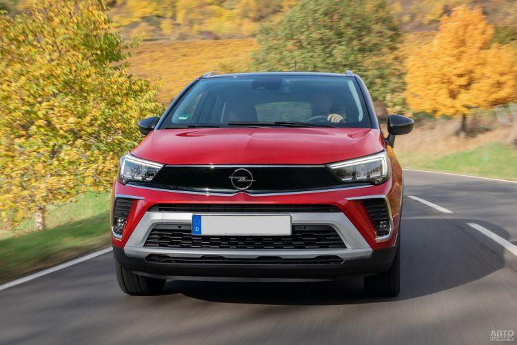 Opel Crossland X: в новом стиле