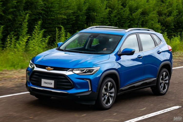 Chevrolet Tracker: смена поколений