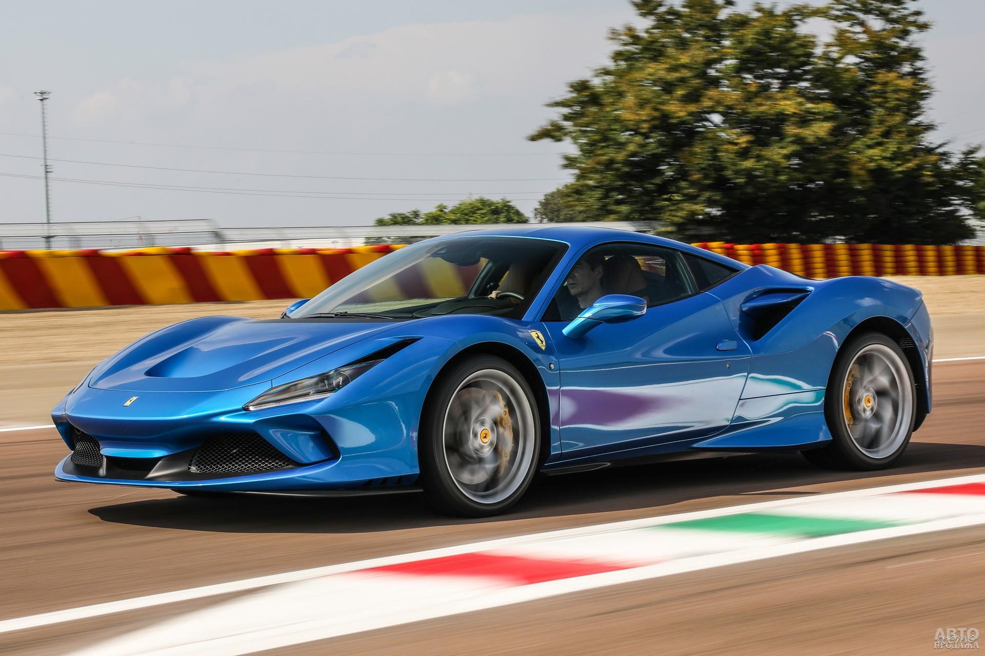Ferrari F8 Tributo, 2019 год