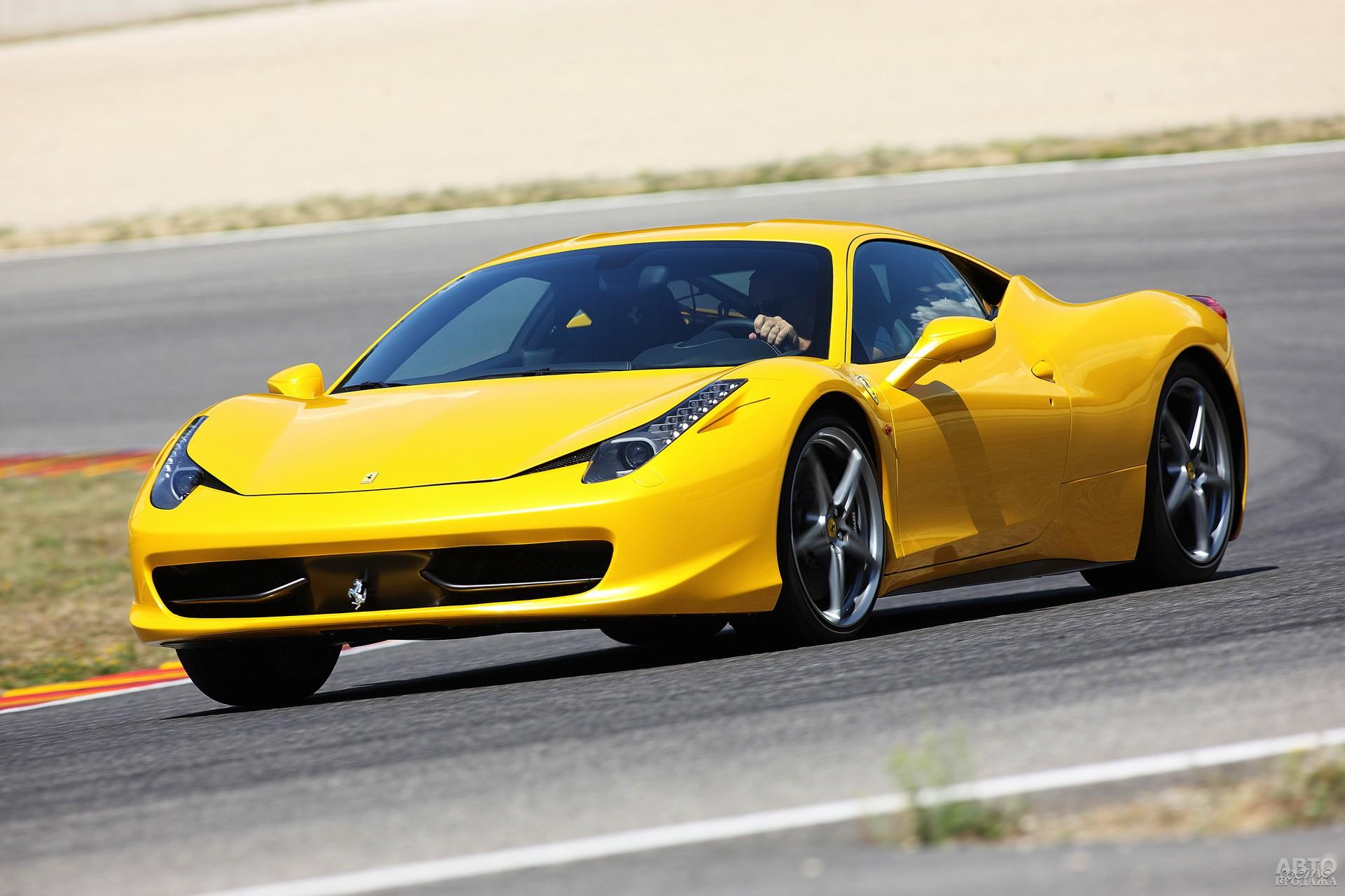 Ferrari 458 Italia 2009 года
