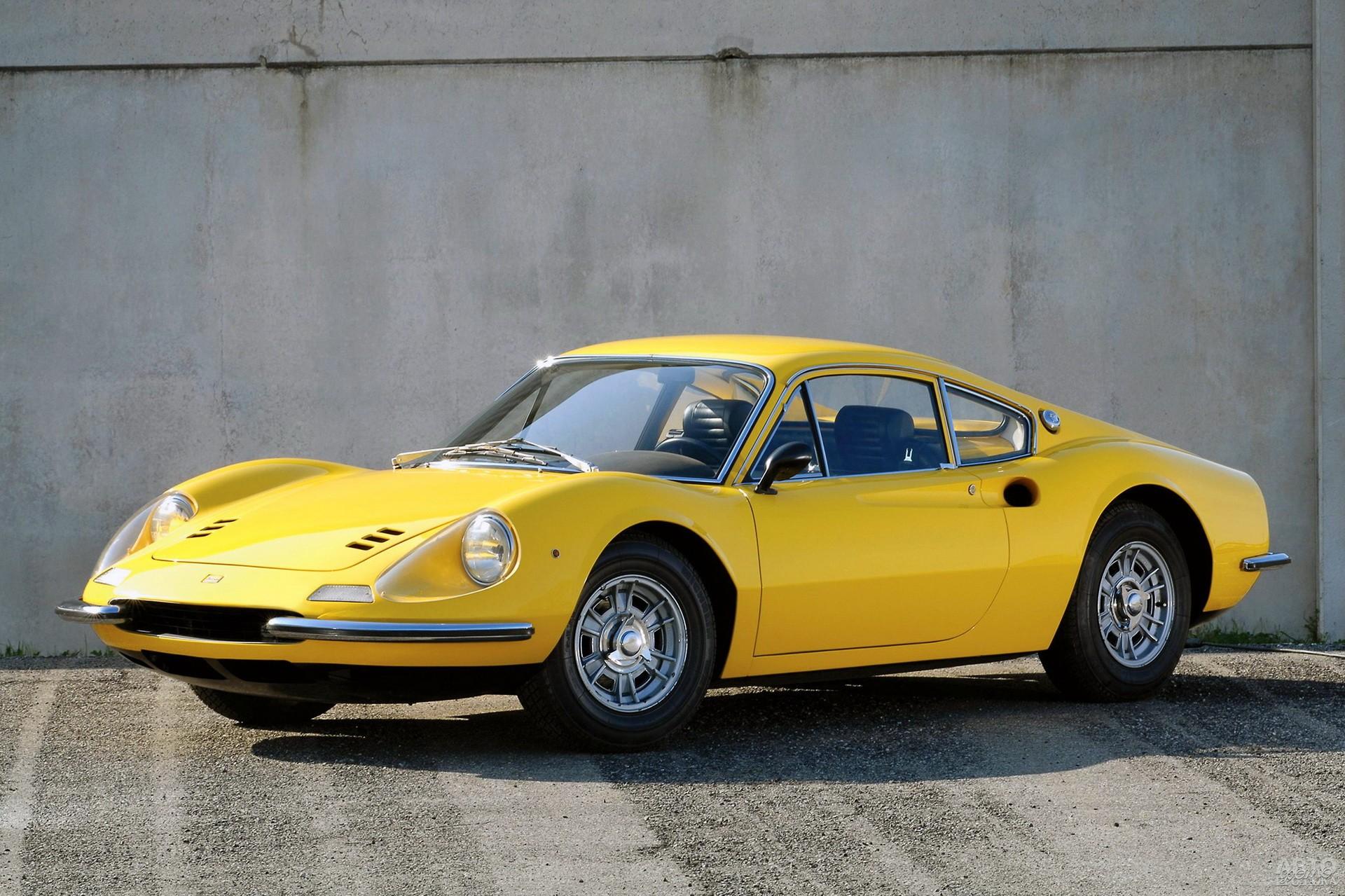 Ferrari Dino 206 GT 1966 года