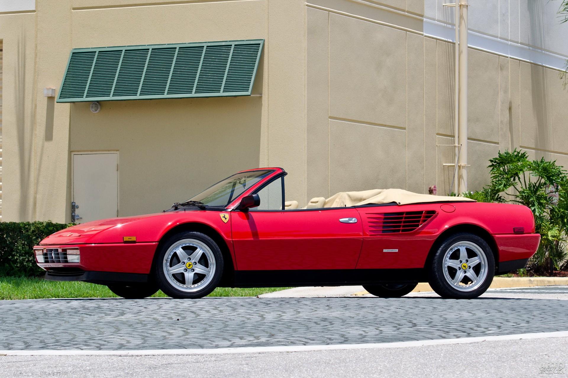 Ferrari Mondial 3.2 Cabriolet 1985 года