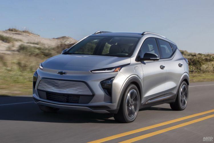 Chevrolet Bolt EUV: расширение линейки