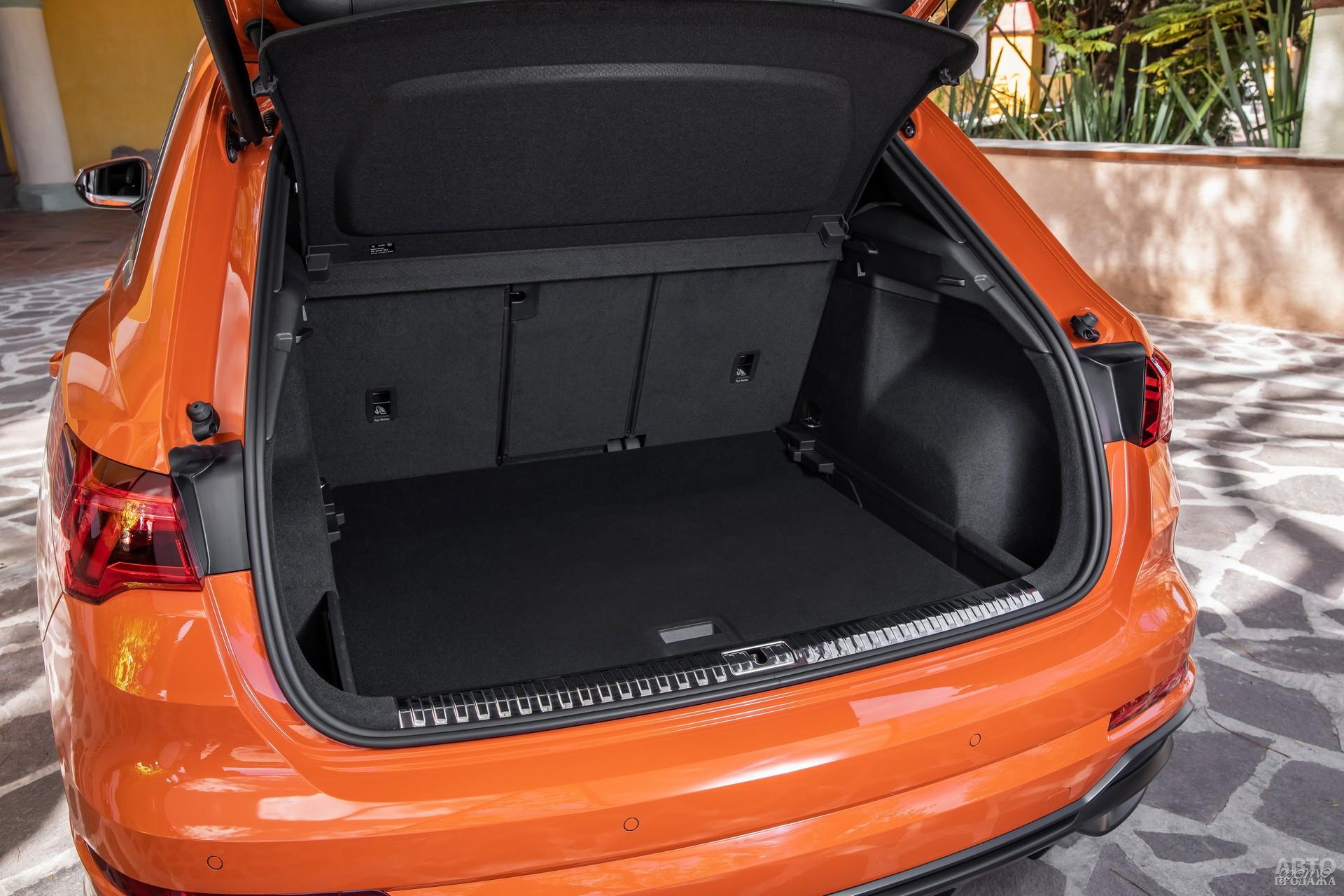 Объем багажника Аudi – 530 л